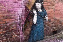 Streetart, Graffiti & More