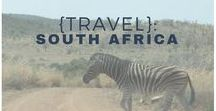 {Travel}: South Africa / things to do and see in South Africa. From beaches, to mountains, to wildlife and fine dining - South Africa has it all!