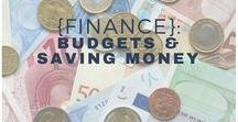 {Finance}: Budgets & Saving Money / ways to save money, how to budget, cutting down spending, financial advice, getting debt free
