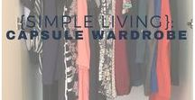 {Simple Living}: Capsule Wardrobe Ideas