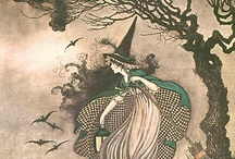 """Autumn & Halloween / """"I saw old Autumn in the misty morn stand shadowless like silence, listening to silence."""" -- Thomas Hood"""