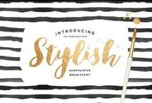 Favorite Fonts / A Collection of My Favorite Fonts / by Neisha Sykes