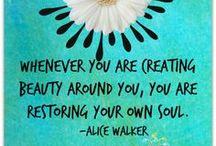 POETRY & WISDOM  / Quotes / by Jennifer Lorenz