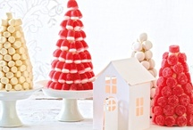 Festive ideas / Contemporary Christmas table & decorations