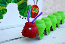 Bugs--very hungry caterpillar / by Jeanne Nordquist
