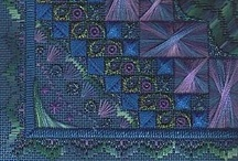 Embroidery / Cross-Stitch, Beading, Canvaswork / by Whitney Robertson