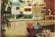 Making it mid century / Updating and retrofitting my 1958 desert home. Coveted decor.
