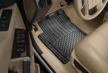 "All-Vehicle Floor Mats / The WeatherTech® AVM® (All-Vehicle Mat) is the evolution of the ""Universal"" All-Weather Floor Mat.  It is the most technologically advanced universal trim-to-fit mat made today, with a unique shape for the driver and passenger floor. / by WeatherTech®: Auto Products"