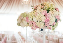 Roses and Pearls  / Appreciating Nature - Beautiful flowers, colours & centrepieces