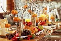 Everything Fall!  / thanksgiving halloween and everything fall!  / by Mindy Cone - CREATIVE JUICE