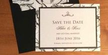 Save the Date Cards / Let your guests know your happy date in advance so they can allow for holidays, travelling, accommodation. Save the Date Cards for Weddings