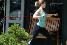Fit celebs / Fit celebrities working out (no skinny types)