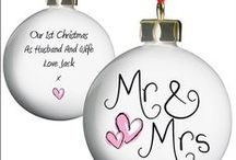 Personalised Christmas Baubles / Perfect gift for Christmas, these personalised Christmas baubles have various designs and can all be personalised in a variety of ways.