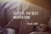 Sleep / Sleep info