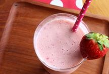 Smoothies and Juices / Healthy sips to start the day and snack healthily.