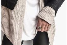 Fall ll Winter Style / Sweaters, coats, cozy beanies and other autumn and winter clothes