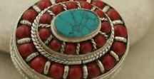 Handcrafted Tibetan Jewelry from Nepal / Tibetan-inspired jewelry is a little glimpse of a rich culture, displaying the beautiful handiwork of traditional artisans. Choose pendants, bracelets, and earrings with intricate metalwork, beaded patterns and gemstone inlays.