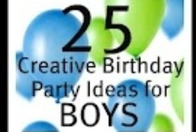 Birthday party and baby shower ideas / by Whitney Brandenberger Brown