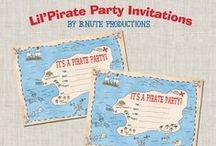Jake/Pirate Party / by Tracy: The Crafty PolkaDot