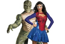 Superhero Couples Costumes