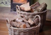 BASKETS & WICKER | DesResDesign / The best of beautiful wicker and ways to style with it. www.desresdesign.co.uk