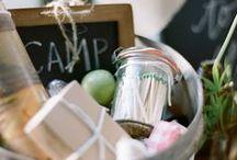 CAMP THEMED BABY SHOWER  / Camp themed baby shower
