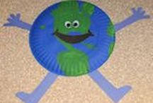Earth Day-Preschool / Earth Day and Recycling / by Debby Michelotti