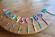 Math-Preschool / Counting, sorting, graphing and number recognition  / by Debby Michelotti