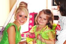 Party Palace Fairy Parties / Take a look at some of our flutteriffic parties!  www.APartyPalace.com