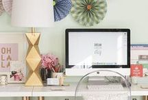 Offices / Home office interior design - perfect place to work