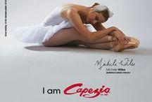 "I Am Capezio / The ""I Am Capezio"" campaign arose from the desire to associate professional athletes with the iconic history of Capezio. / by Capezio"