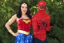 Super Hero Parties / Take a look at some of the fun we have had at our events with  our Super Heros!