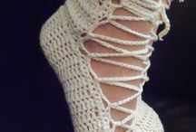 Crochet Socks and Slippers