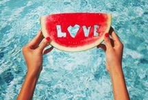 ☀ #Summer ~ Watermelons ~ / Watermelons are so refreshing!