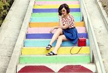 Public Stairway Art