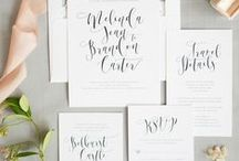 Wedding | Invitations / Wedding Invitations
