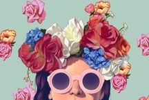 design, graphic design, colors and art ♥