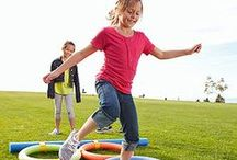 Outdoor Activities for Kids [Warm Weather]  / Games and activities for kids and families to play outside when it's warm out.  / by American Family Children's Hospital