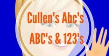 Letters & Numbers Videos for Preschoolers / Cullen's Abc's DIY Online Preschool at CullensAbcs.com