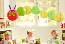 Very Hungry Caterpillar Party / by Lisa Newton