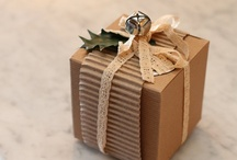 Gifts - wrapping / by Deeds McGoo