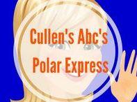 The Polar Express Theme DIY Preschool / Cullen's Abc's DIY Online Preschool at CullensAbcs.com