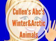 Winter & Arctic Animals DIY Preschool Themes / Cullen's Abc's DIY Online Preschool at CullensAbcs.com