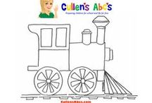 Preschooler Art Patterns / Cullen's Abc's DIY Online Preschool at CullensAbcs.com