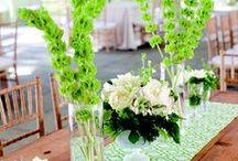 wedding colors: green