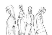 ►►Fashion sketches