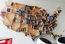 Shelf Space / creative places to keep your books