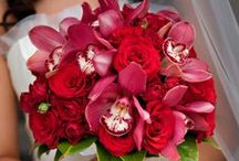 wedding colors: red