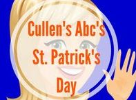St. Patrick's Day with Cullen's Abc's / St. Patrick's Day Fun for Preschoolers and Children