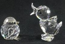 Swarovski Crystal / Gorgeous Swarovski crystal figurines in our auctions! / by Pot of Gold Auctions
